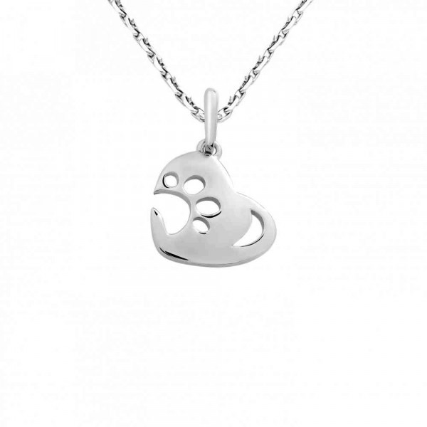 """Pendant """"Paw on the Heart"""""""