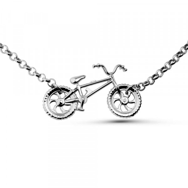 """Necklace """"Bicycle"""""""