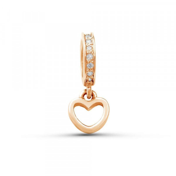 """Charm """"Heart"""" gold plated"""