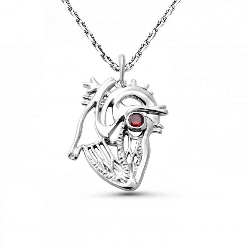 """Pendant """"Anatomical heart sectional № 2"""""""