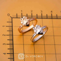"""Ring """"Heart with vessels"""" 14K"""