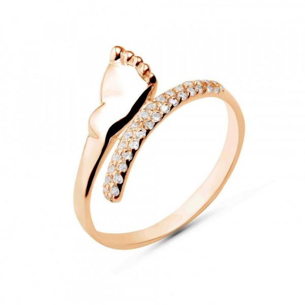 """Ring """"Heel № 1"""" gold plated"""