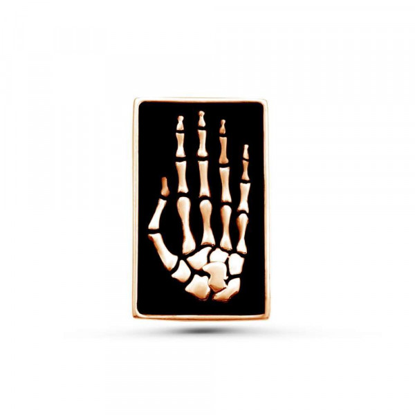 """Pin """"Brush"""" gold plated"""